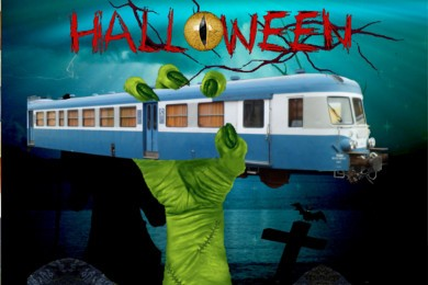 Trains d'halloween 2017