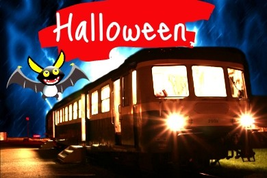 Trains d'halloween 2018