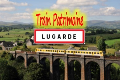 Train patrimoine de Lugarde