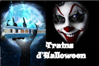 Trains d'Halloween 2019