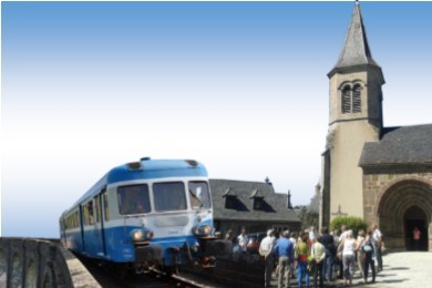 Train du patrimoine de Lugarde 2019